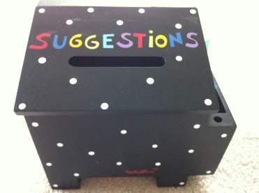 Suggestion Box  :)