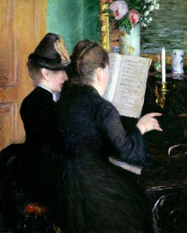 the-piano-lesson-gustave-caillebotte